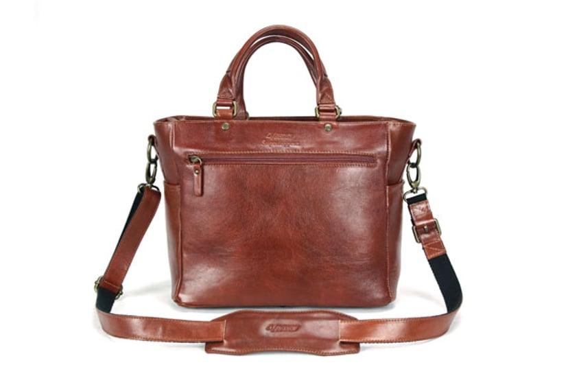 4V Design Anna Tote Leather Bag
