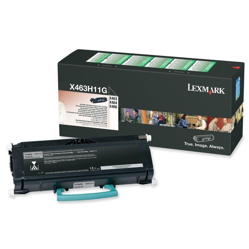 Lexmark Toner Sort Return PROGRAM - X463H11G