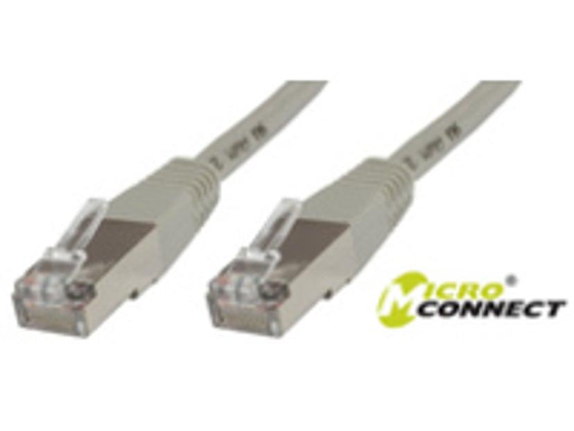 Microconnect Nettverkskabel RJ-45 RJ-45 CAT 6 2m Grå