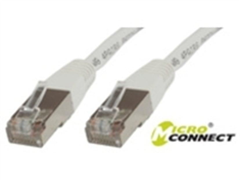 Microconnect Netværkskabel RJ-45 RJ-45 CAT 6 7m Hvid