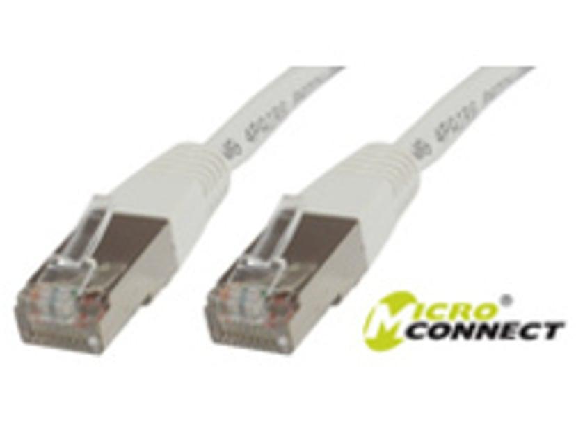 Microconnect Netværkskabel RJ-45 RJ-45 CAT 6 5m Hvid