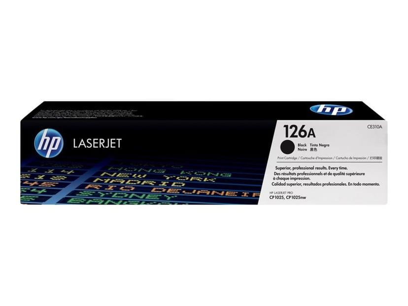 HP Toner Svart 1.2K - CE310A