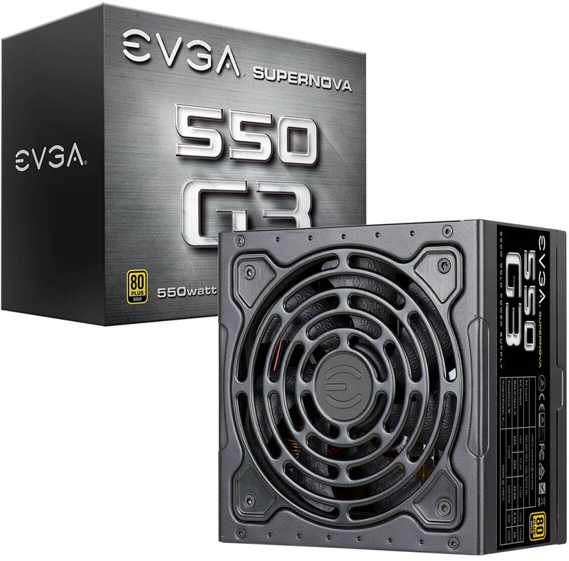 EVGA SuperNOVA 550 G3 550W 80 PLUS Gold