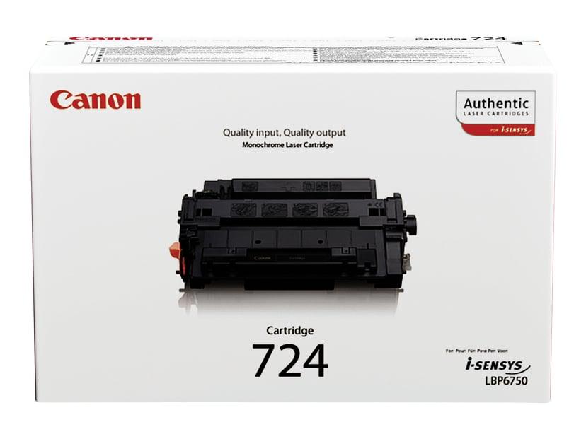 Canon Värikasetti Musta 724 6k - 6750DN