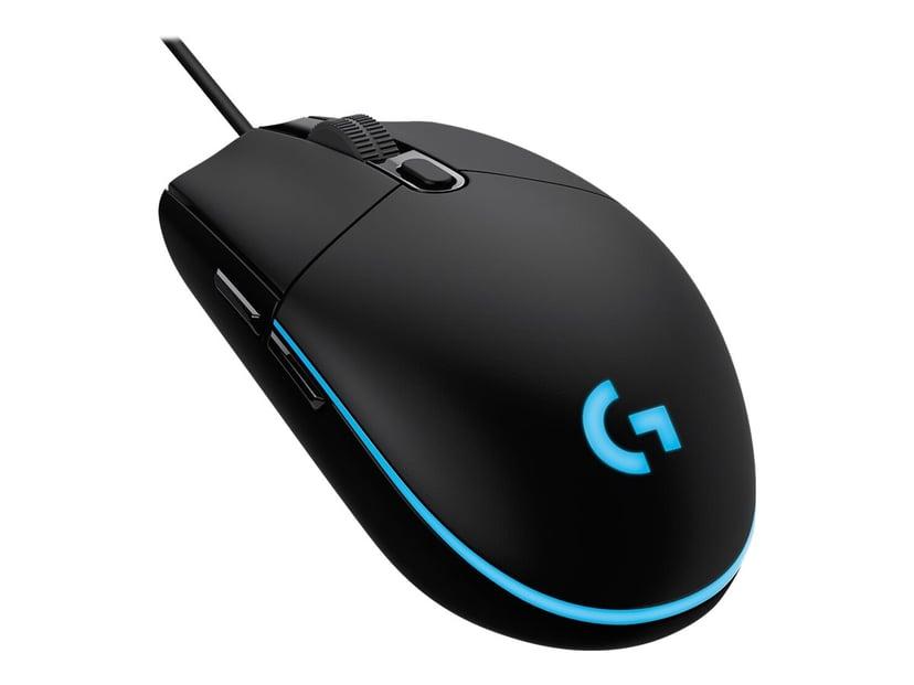 Logitech Gaming Mouse G203 Prodigy Mus Kabelansluten Svart