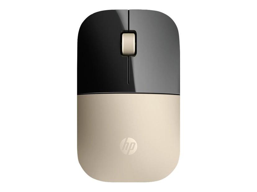 HP Z3700 1,200dpi Mus Trådlös Guld, Svart