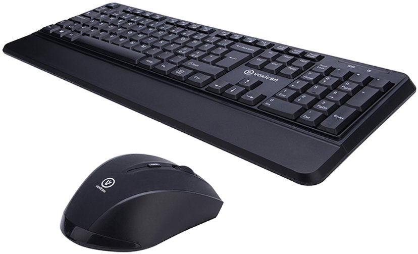 Voxicon 201WLH Combo Keyboard and Mouse for Business Nordiska länderna