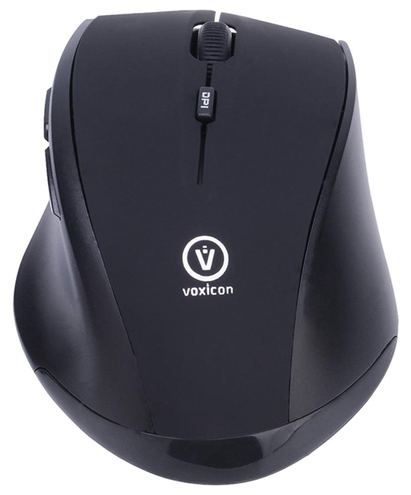 Voxicon Office M30WLB 1,600dpi Mus Trådlös Svart