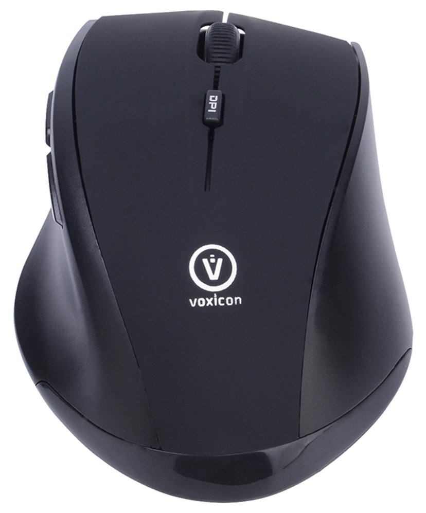Voxicon Office M30WLB Svart Mus Trådlös 1,600dpi