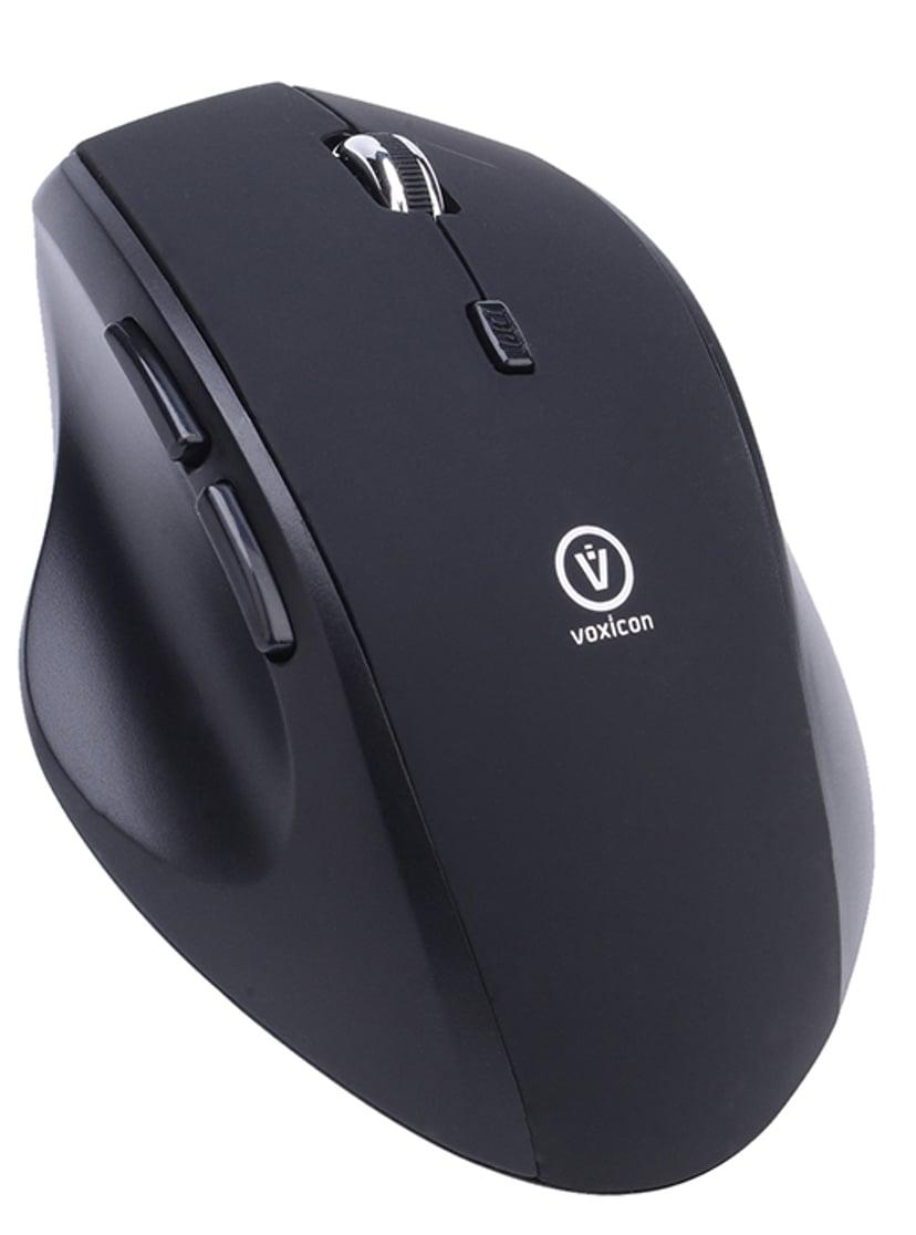 Voxicon Office M50WLB Svart Mus Trådlös 1,600dpi
