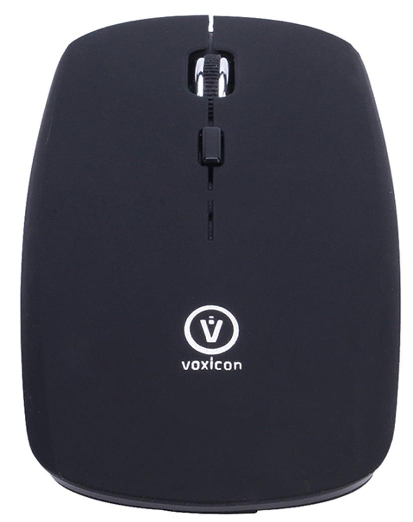Voxicon Travel S10WLB 1,600dpi Mus Trådlös Svart