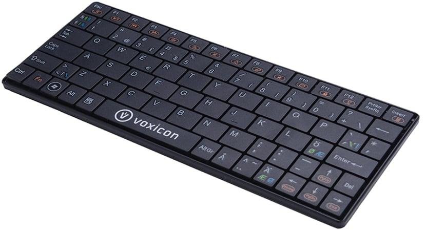 Voxicon Ultra-Slim SM411 Tastatur Trådløs Nordisk Svart