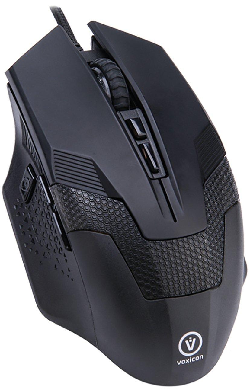 Voxicon Gaming GR8-10 3,200dpi Mus Kablet Svart