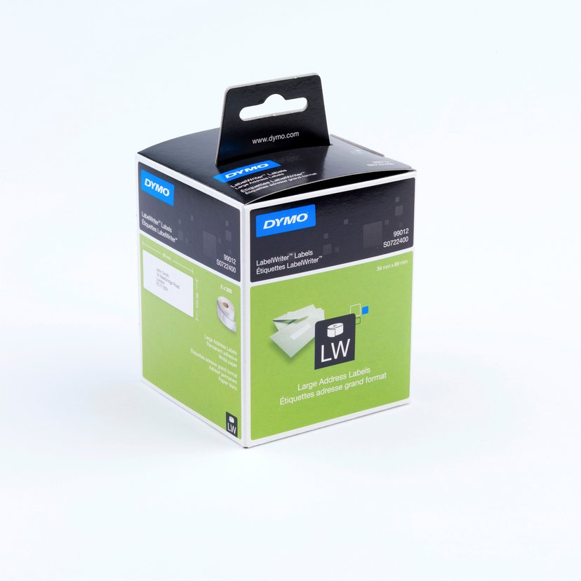 Dymo Etiketter Adresse 89 x 36mm - LW 2-Pack