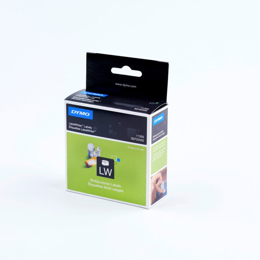 Dymo Etiketter Universal 51 x 19mm - LW