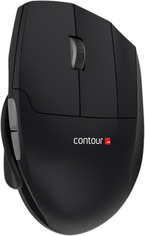 Contour Design Unimouse Wireless Svart Mus Trådlös