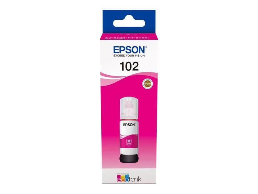 Epson Blæk Magenta 102 - ET-3700