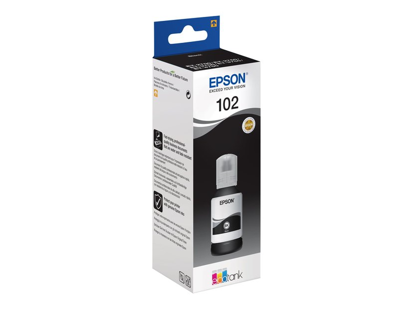 Epson Blekk Svart 102 - ET-3700