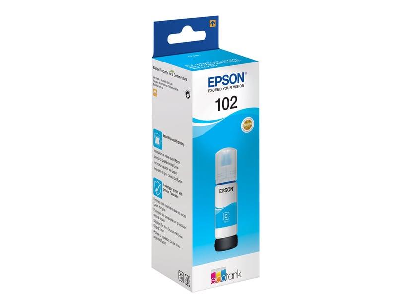 Epson Inkt Cyaan 102 - ET-3700