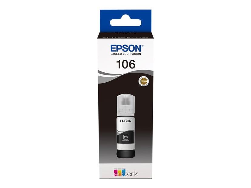 Epson Muste Kuva Musta 106 - ET-7750