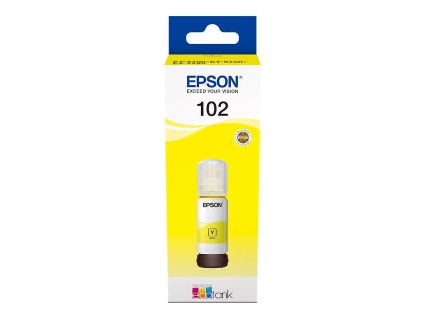 Epson Blæk Gul 102 - ET-3700