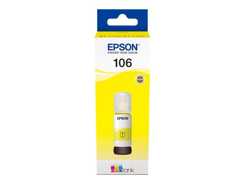 Epson Blekk Gul 106 - ET-7750