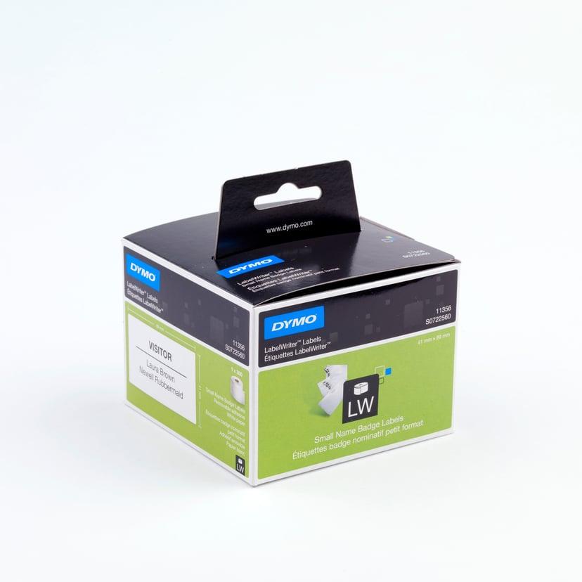 Dymo Etiketter Navneskilt 89 x 41mm Flyttbar - LW