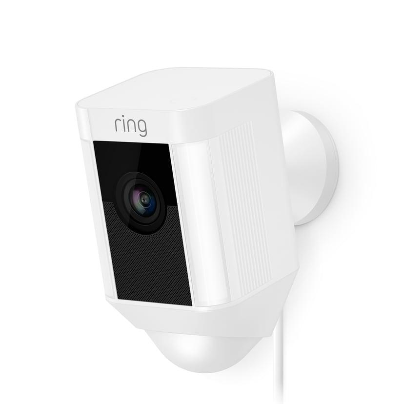 Ring Spotlight Camera Hardwire - White