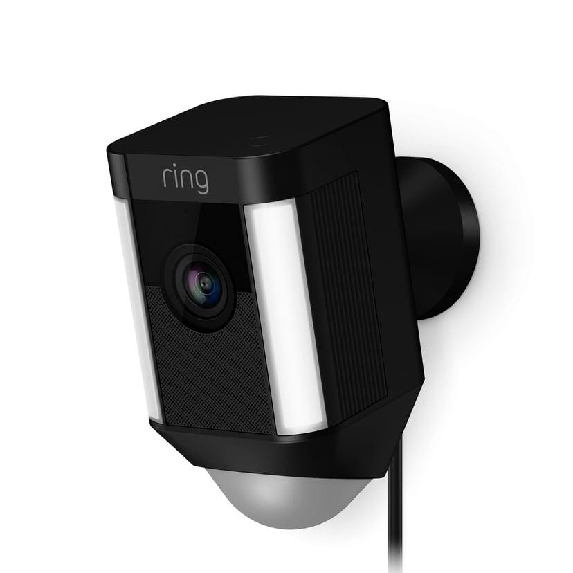 Ring Spotvalo Kamera, langallinen - Musta