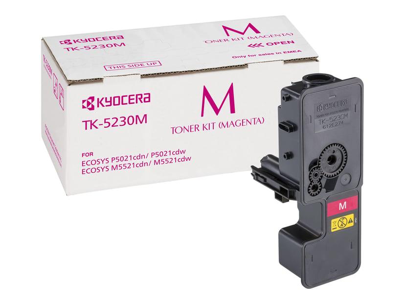 Kyocera Värikasetti Magenta 2.2K Tk-5230M - P5021/M5021