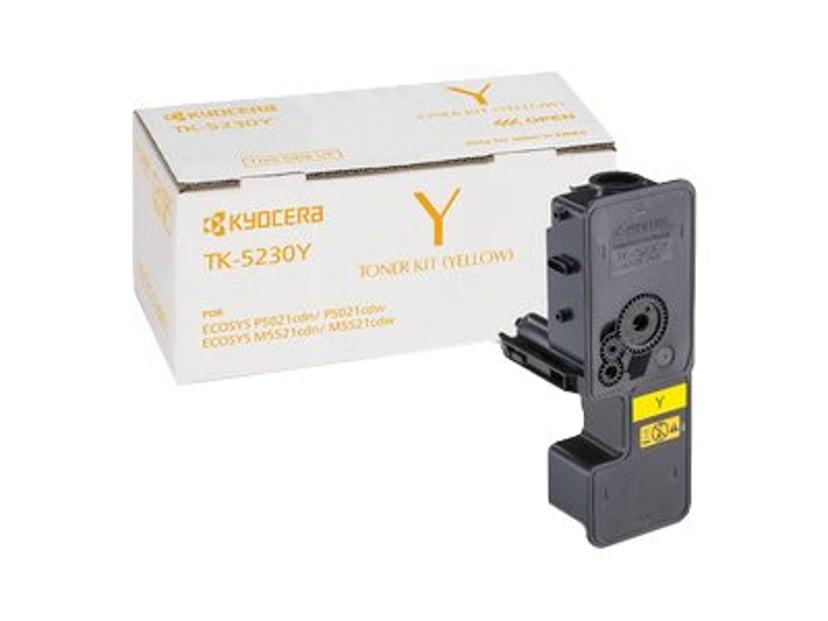 Kyocera Värikasetti Yelllow 2.2K Tk-5230Y - P5021/M5021
