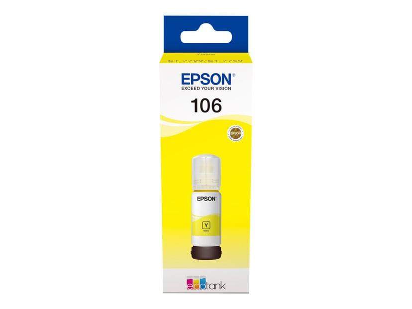 Epson Inkt Geel 106 - ET-7750