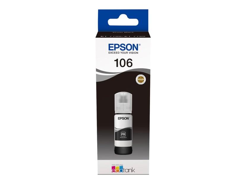 Epson Inkt Foto Zwart 106 - ET-7750