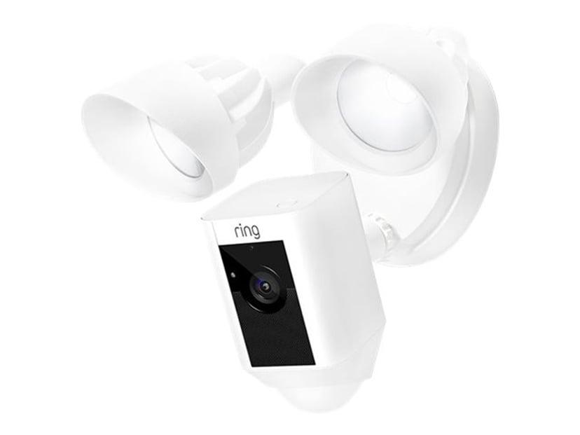 Ring Floodlight Kamera - Vit