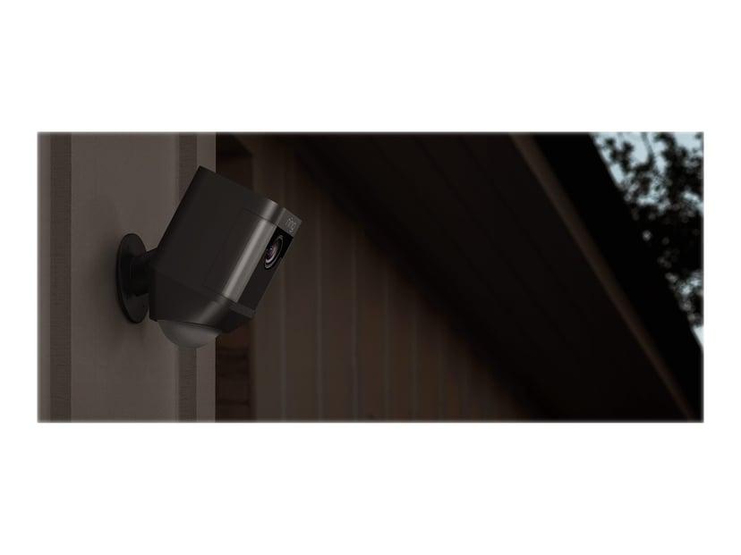 Ring Spotlight Kamera Med Batteri Svart