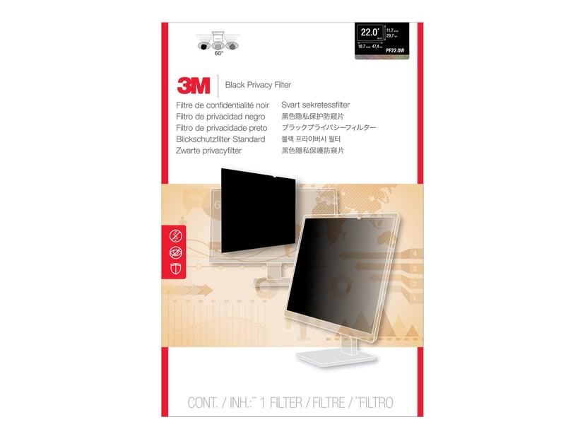 """3M Sekretessfilter till widescreen-skärm 22"""" 16:10"""