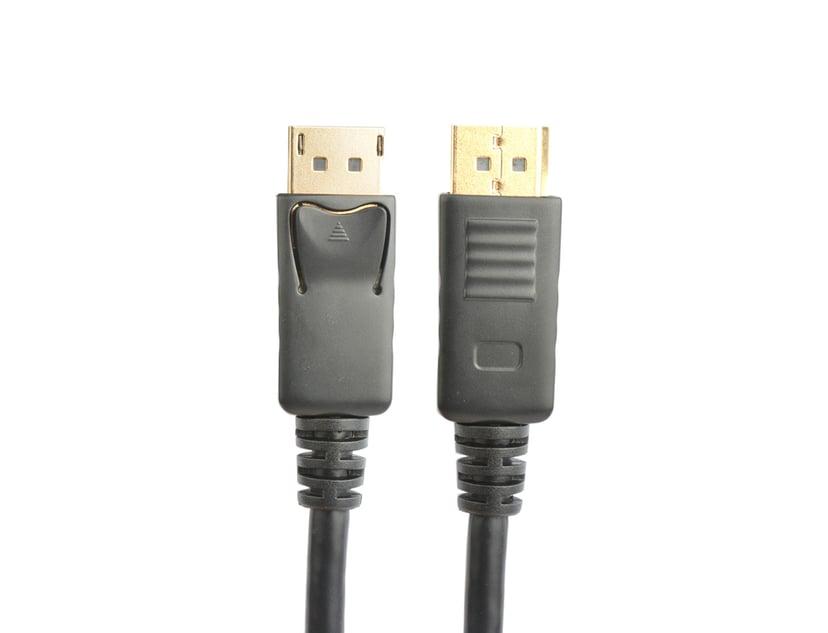 Prokord Prokord Active Displayport - Displayport 15m Black DisplayPort Hann DisplayPort Hann 15m