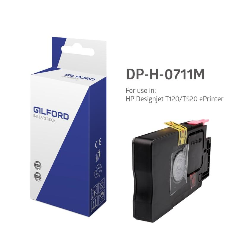 Gilford Inkt Magenta 711, 29ml - Dj T120 - Cz131A