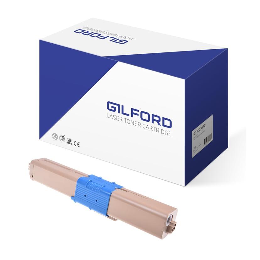 Gilford Toner Cyan 2K - C300/C500 - 44469706