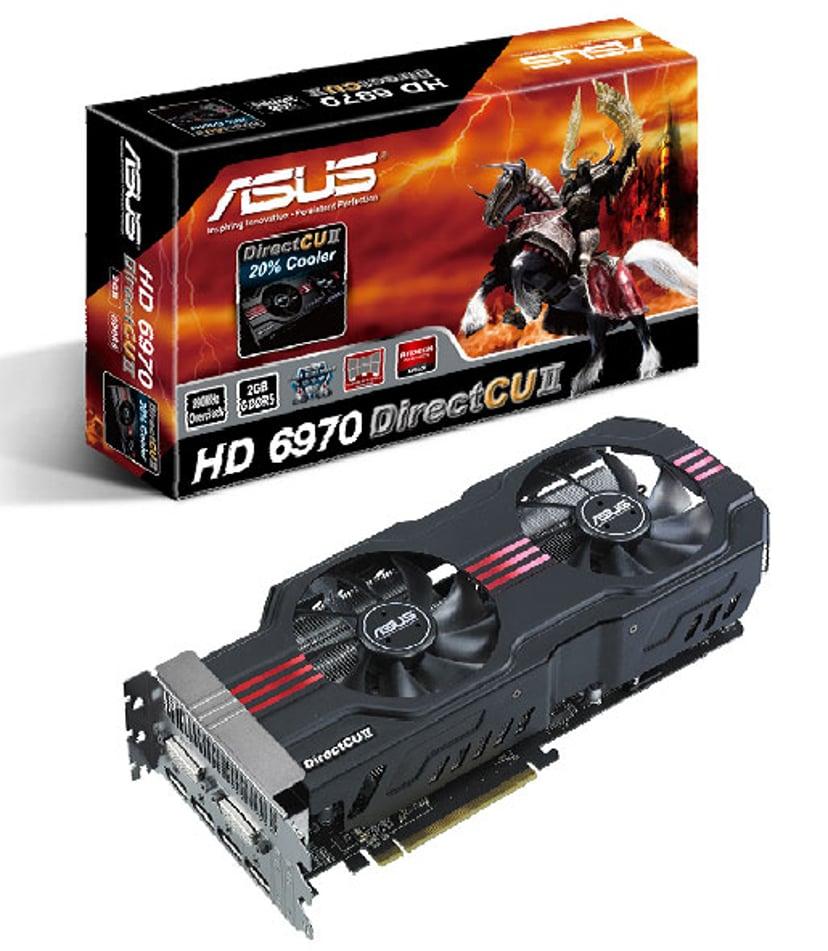 ASUS Radeon HD6970 2GB DC Gddr5 PCI-E DVI/DP