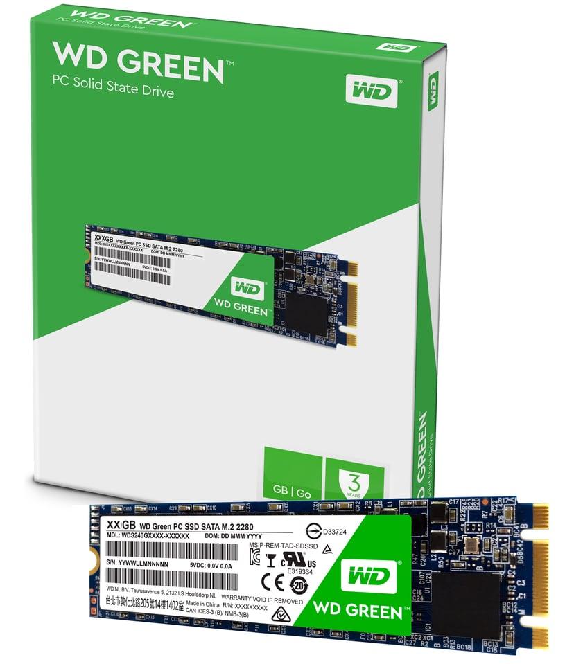 WD Green 3D Nand 120GB M.2 2280 Serial ATA-600