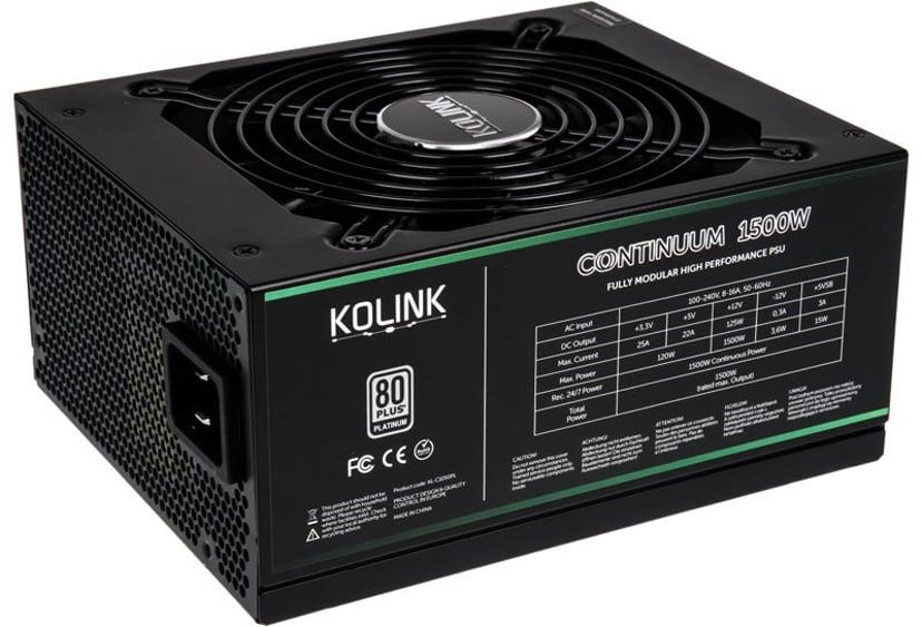 Kolink Continuum 1,500W 80 PLUS Platinum