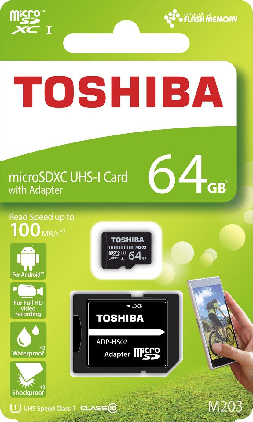 Toshiba M203 microSDXC UHS-I-geheugenkaart