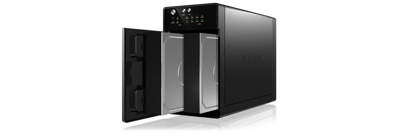 Raidsonic ICY BOX IB-RD3620SU3 Serial ATA-600 Zwart
