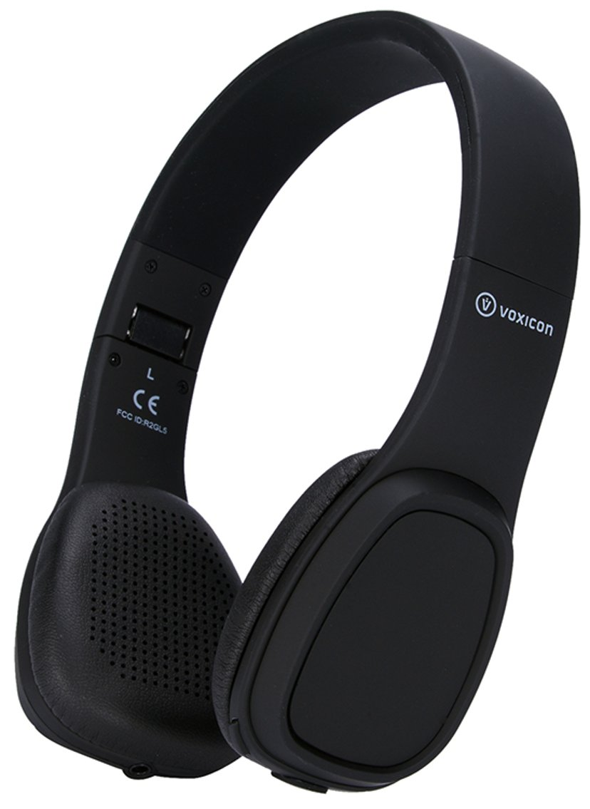 Voxicon Headphones Touch Controlled Rp-11 Zwart