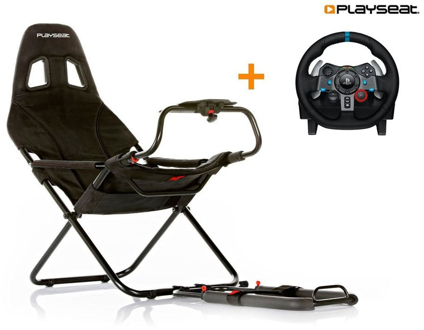 Playseat Challenge + Logitech G29 Svart