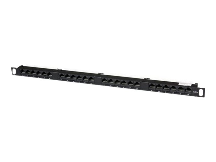 Startech Patchpanel 24 porte Uskærmet drejet partråd (UTP) CAT 5e