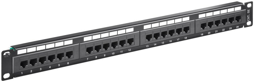 Microconnect Patchpanel 24 portar Unshielded twisted pair (UTP) CAT 5e