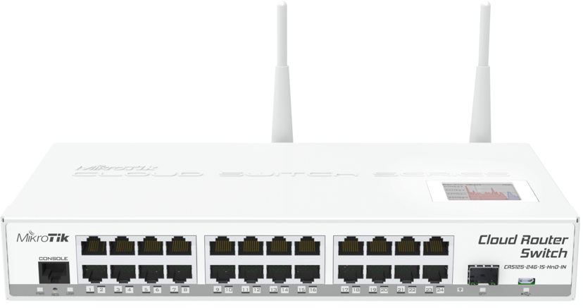 Mikrotik CRS125-24G-1S-2HnD-IN Cloud Router Switch