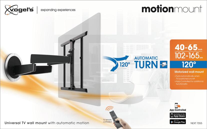 """Vogel´s 7355 Motionmount 40-65"""" Turn 120"""